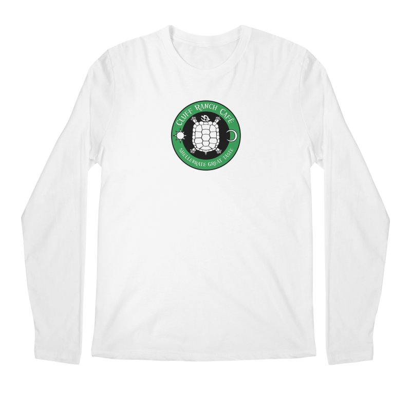 Cluff Ranch Cafe Men's Longsleeve T-Shirt by