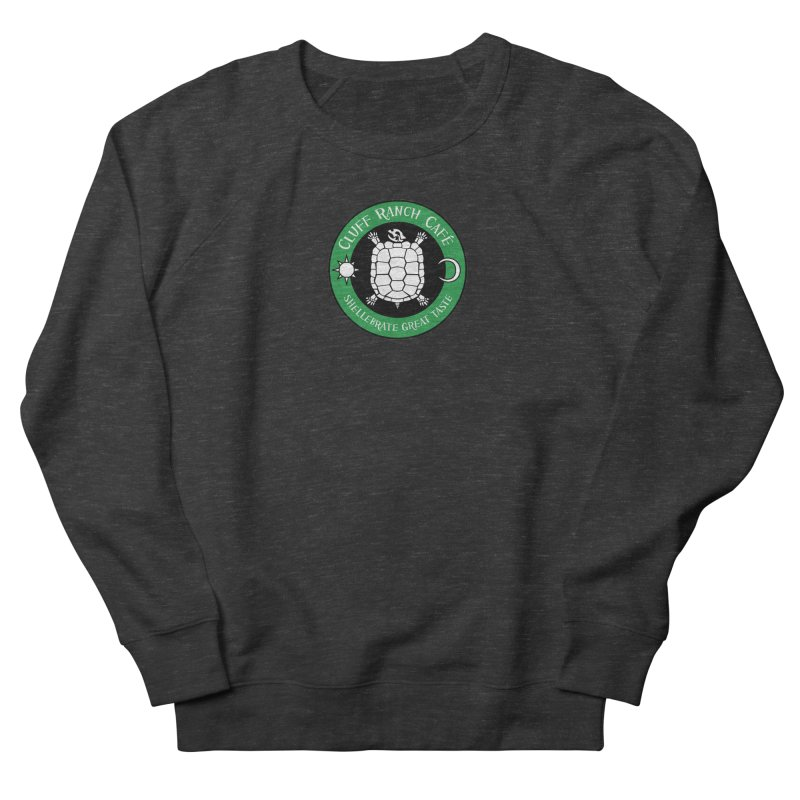 Cluff Ranch Cafe Women's French Terry Sweatshirt by