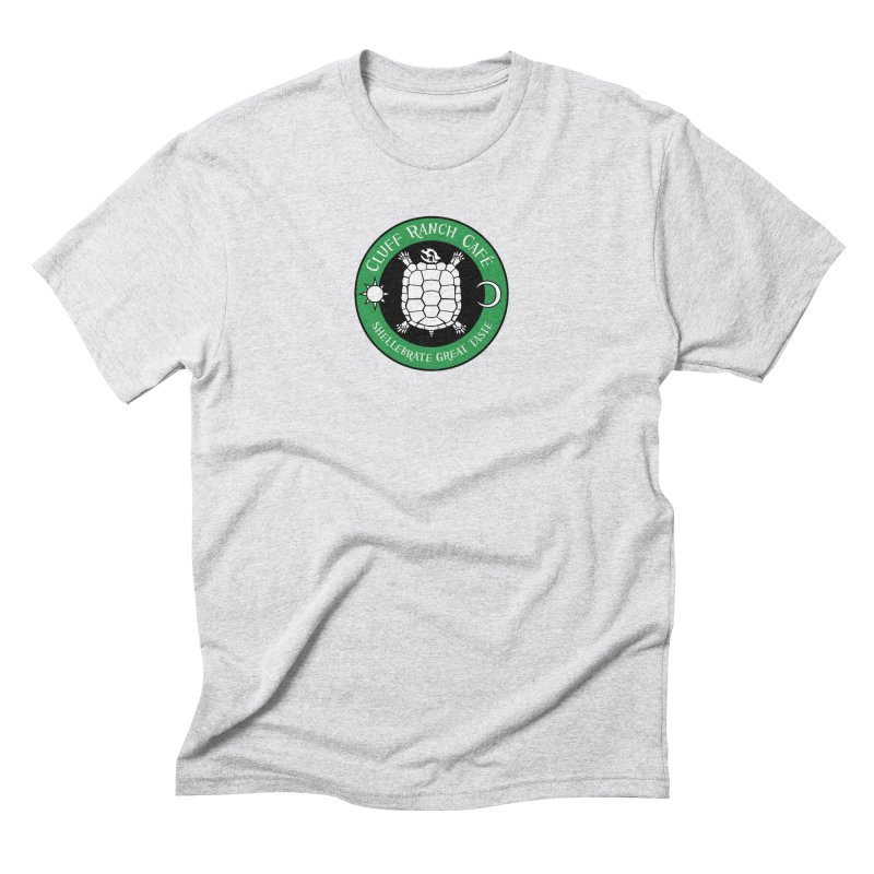Cluff Ranch Cafe Men's Triblend T-Shirt by