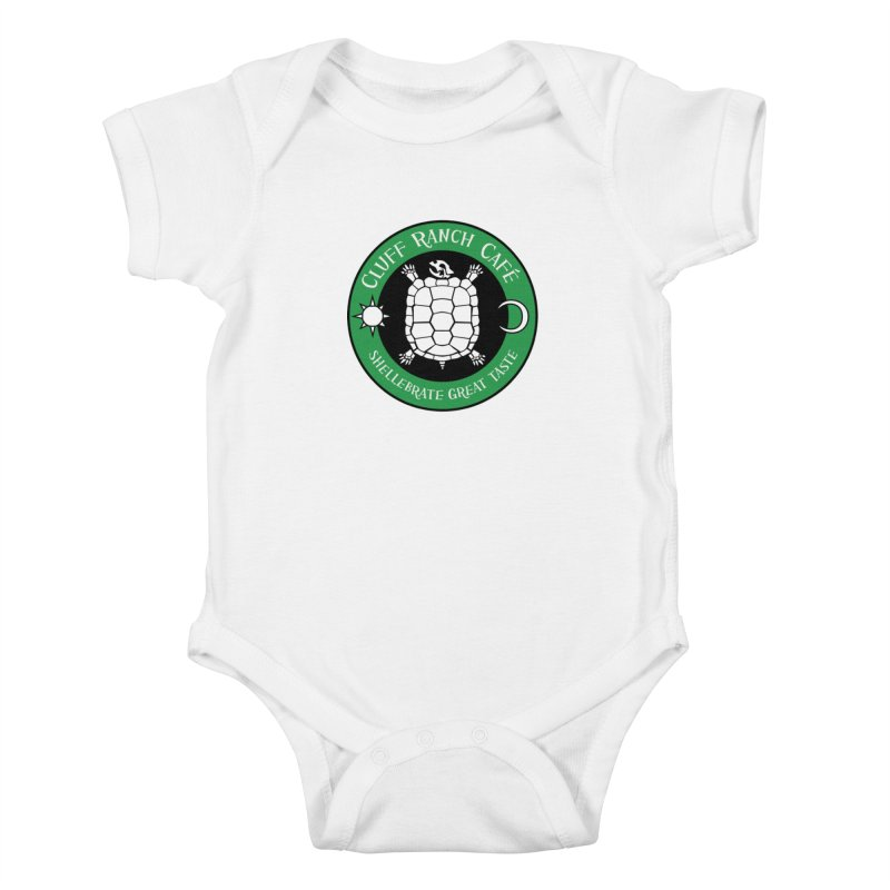 Cluff Ranch Cafe Kids Baby Bodysuit by