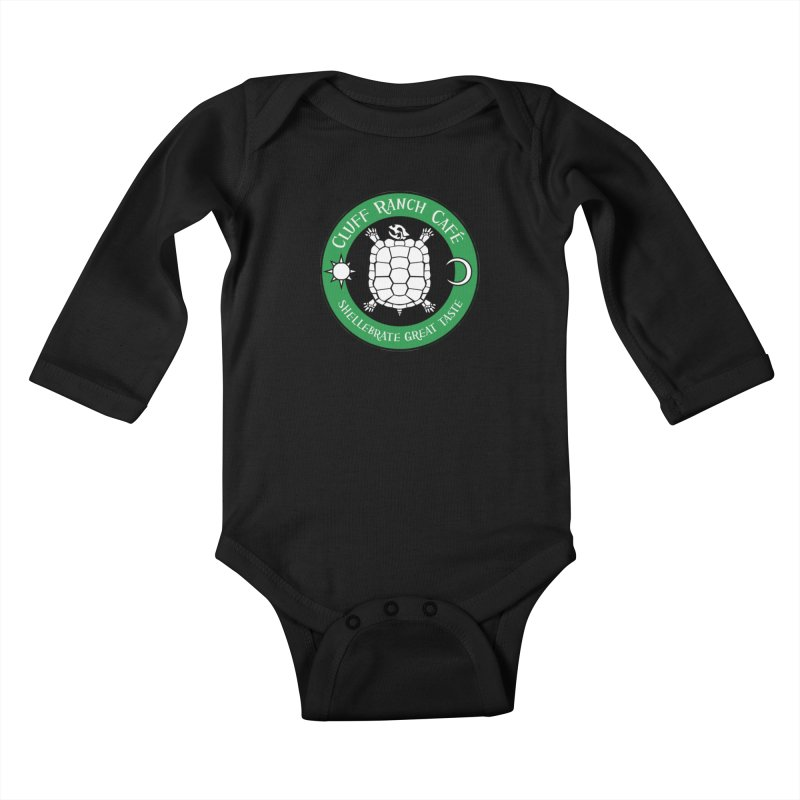 Cluff Ranch Cafe Kids Baby Longsleeve Bodysuit by