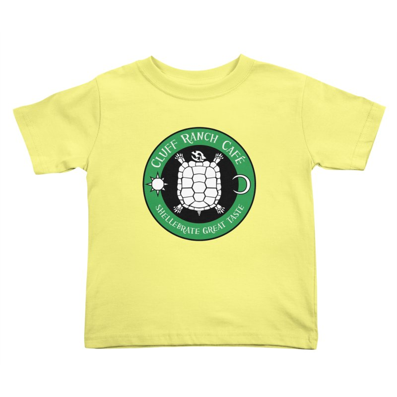 Cluff Ranch Cafe Kids Toddler T-Shirt by