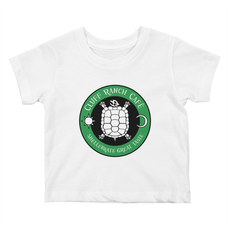 Cluff Ranch Cafe Kids Baby T-Shirt by