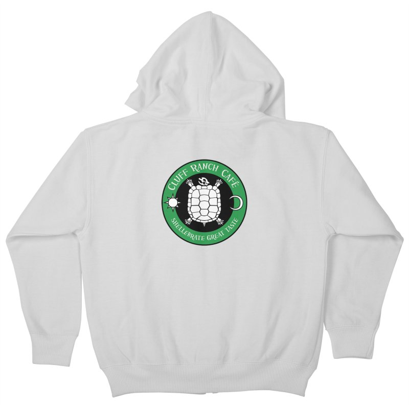 Cluff Ranch Cafe Kids Zip-Up Hoody by
