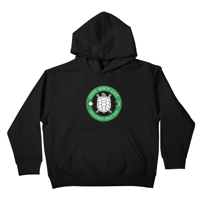 Cluff Ranch Cafe Kids Pullover Hoody by
