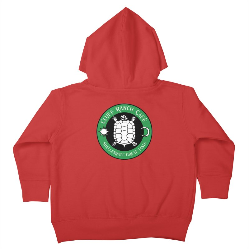 Cluff Ranch Cafe Kids Toddler Zip-Up Hoody by