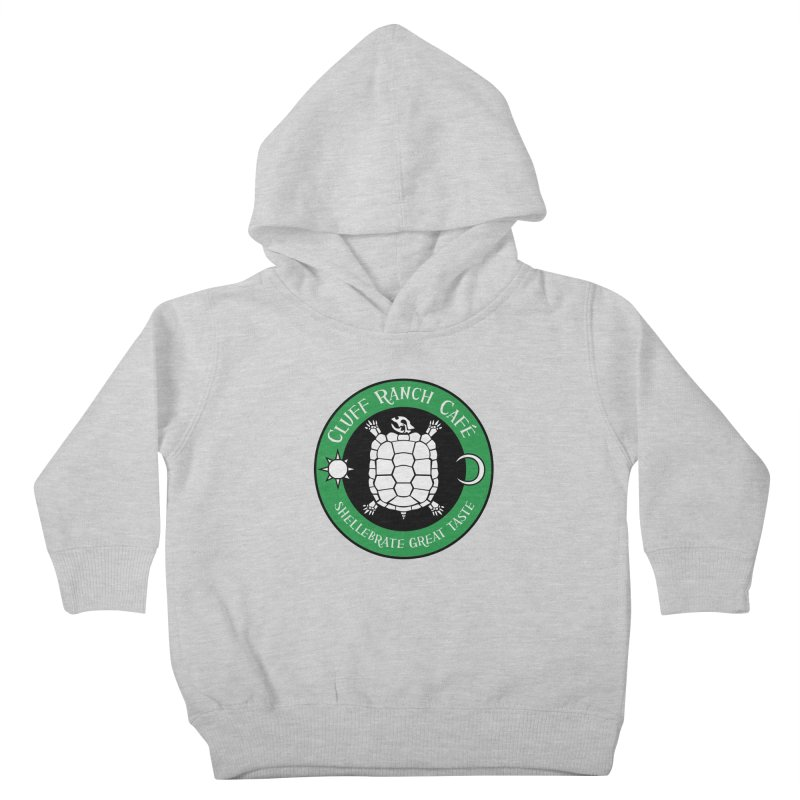 Cluff Ranch Cafe Kids Toddler Pullover Hoody by
