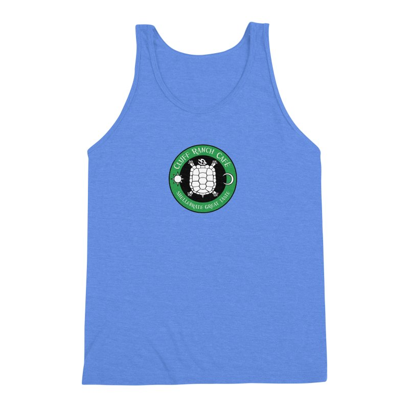 Cluff Ranch Cafe Men's Triblend Tank by