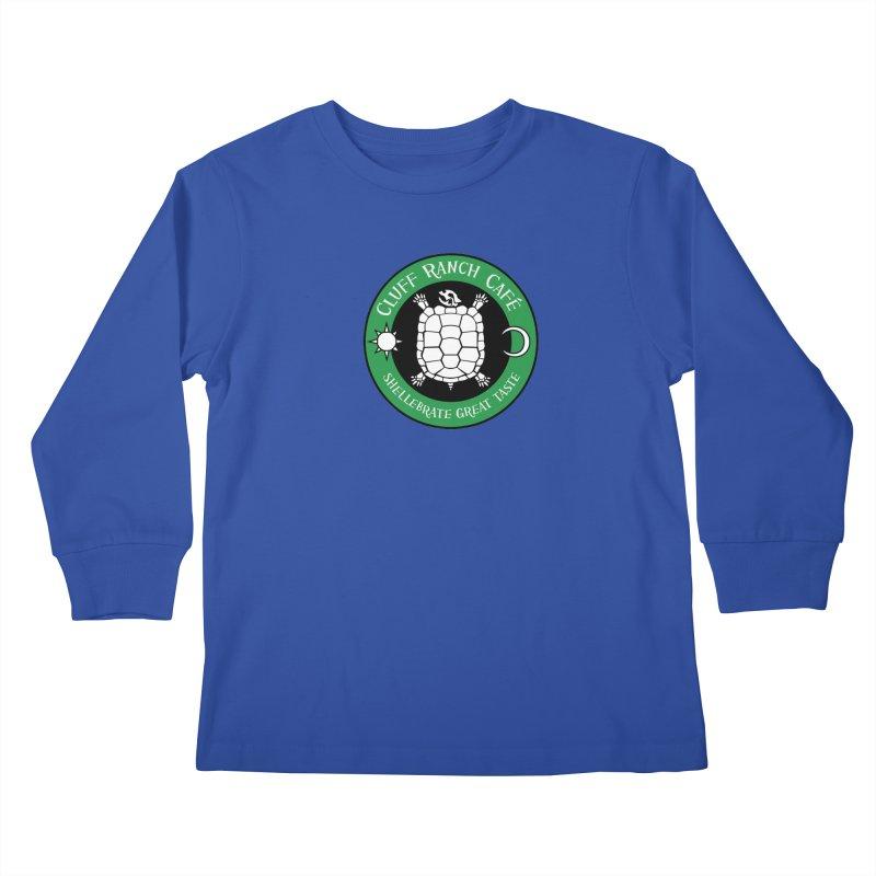 Cluff Ranch Cafe Kids Longsleeve T-Shirt by