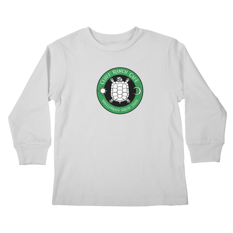 Cluff Ranch Cafe Kids Longsleeve T-Shirt by
