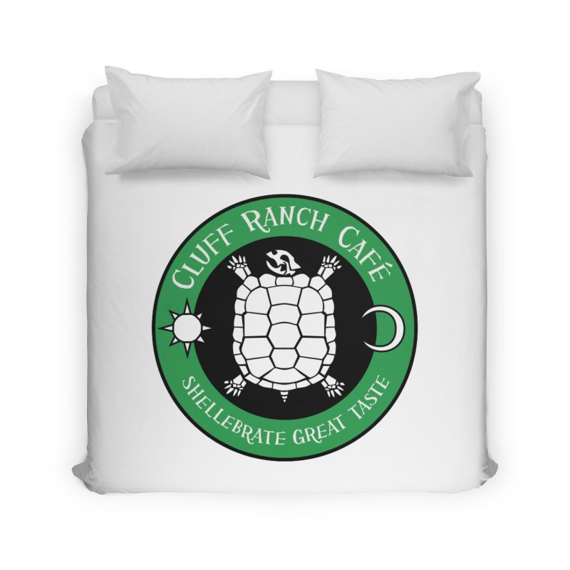 Cluff Ranch Cafe Home Duvet by