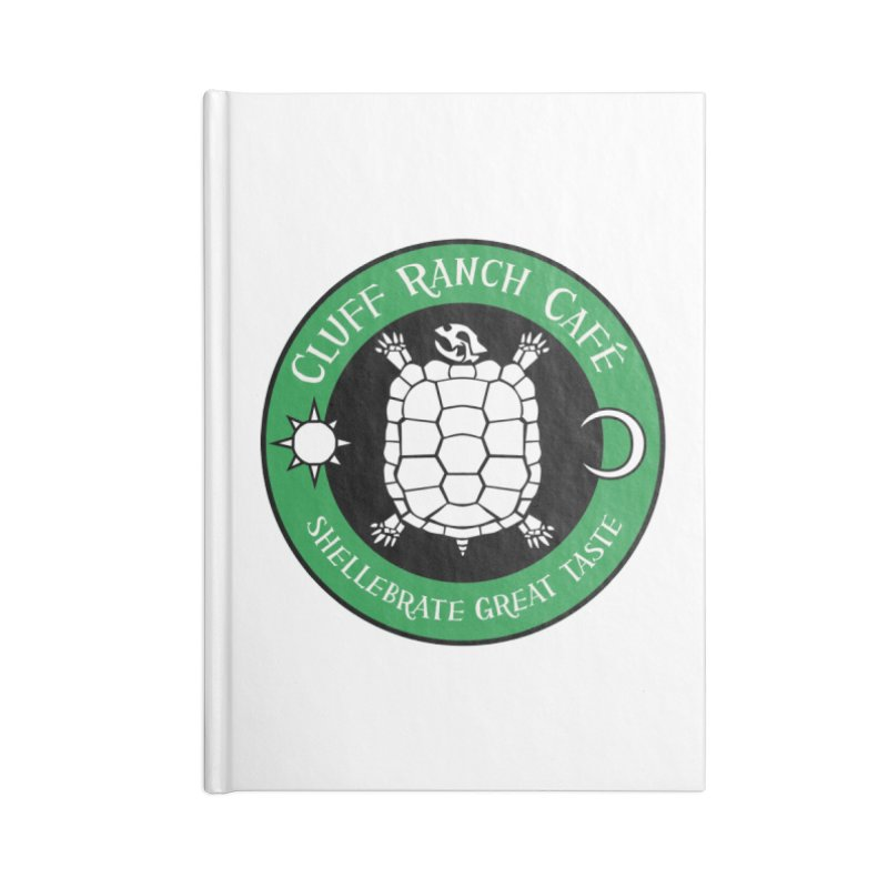 Cluff Ranch Cafe Accessories Notebook by