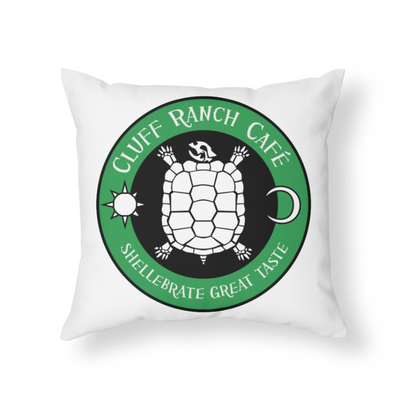 Cluff Ranch Cafe Home Throw Pillow by