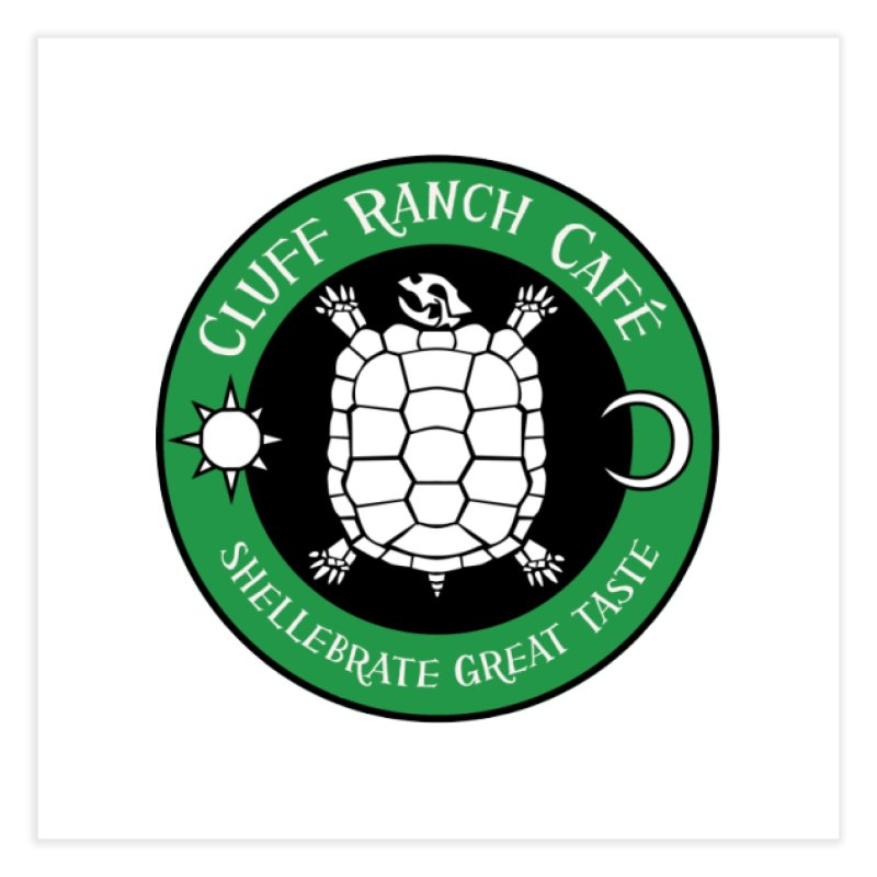 Cluff Ranch Cafe Home Fine Art Print by