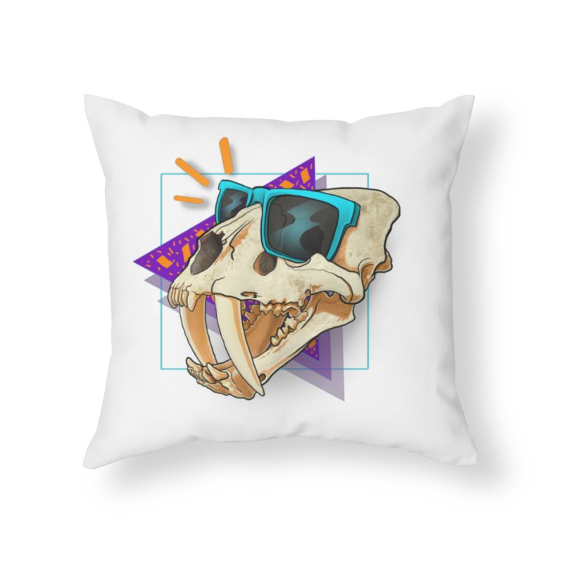 Smile-odon Home Throw Pillow by
