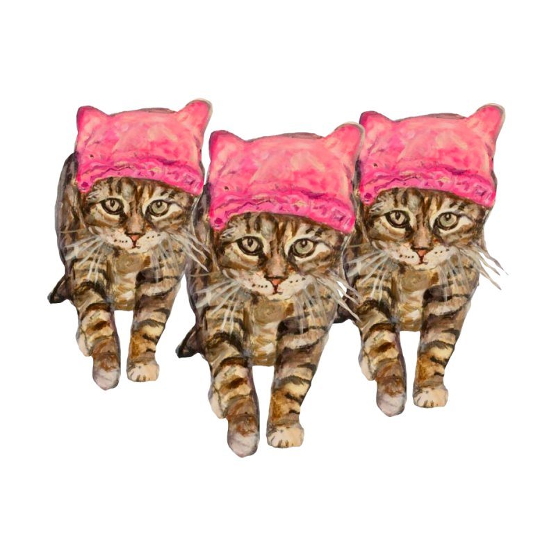 Femme Chats Women's T-Shirt by Jennybelin's Artist Shop