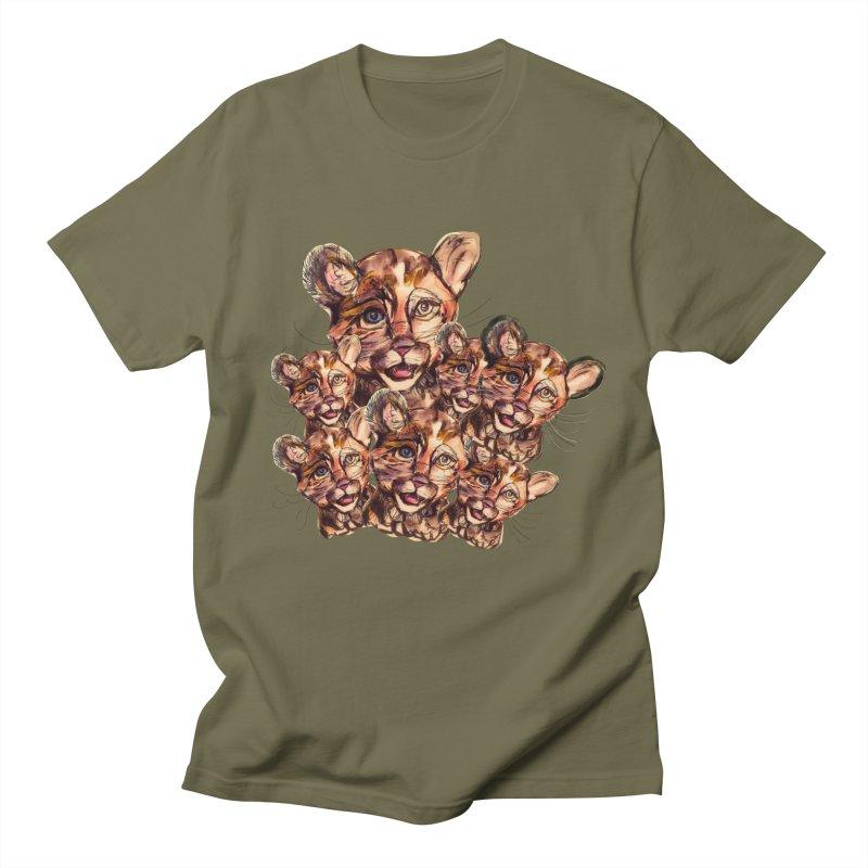 Wild Catz Women's Regular Unisex T-Shirt by Jennybelin's Artist Shop
