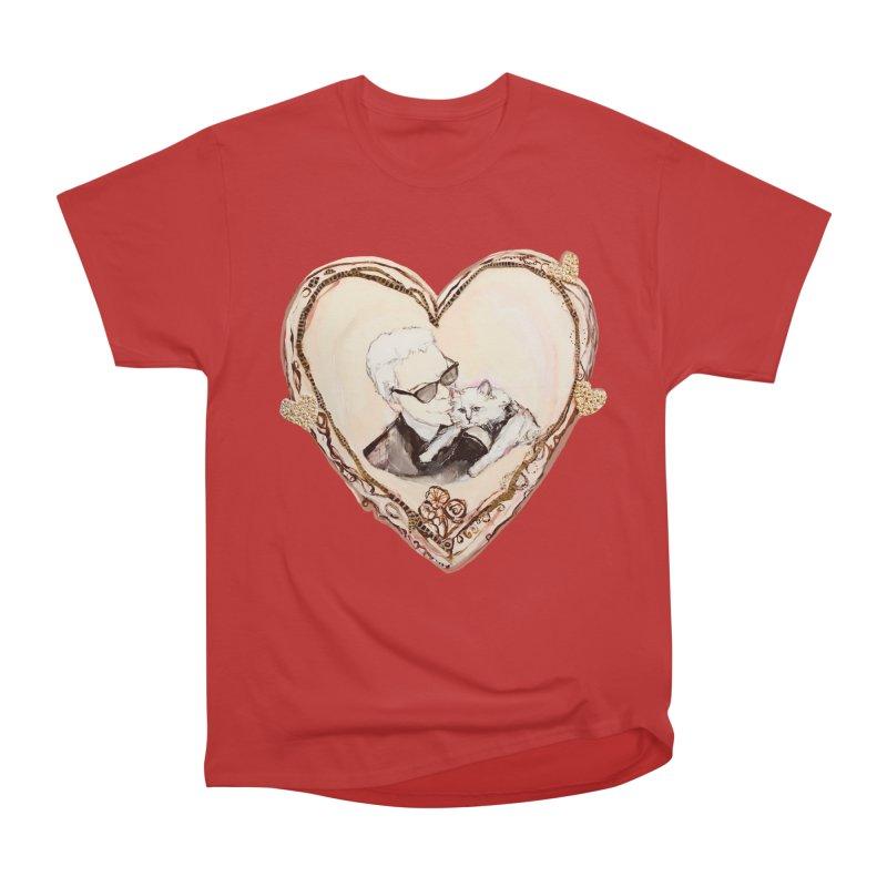 Karl's Valentine Men's Heavyweight T-Shirt by Jennybelin's Artist Shop