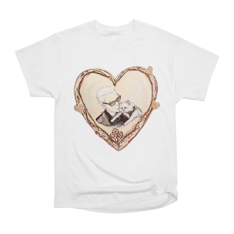 Karl's Valentine Women's Heavyweight Unisex T-Shirt by Jennybelin's Artist Shop
