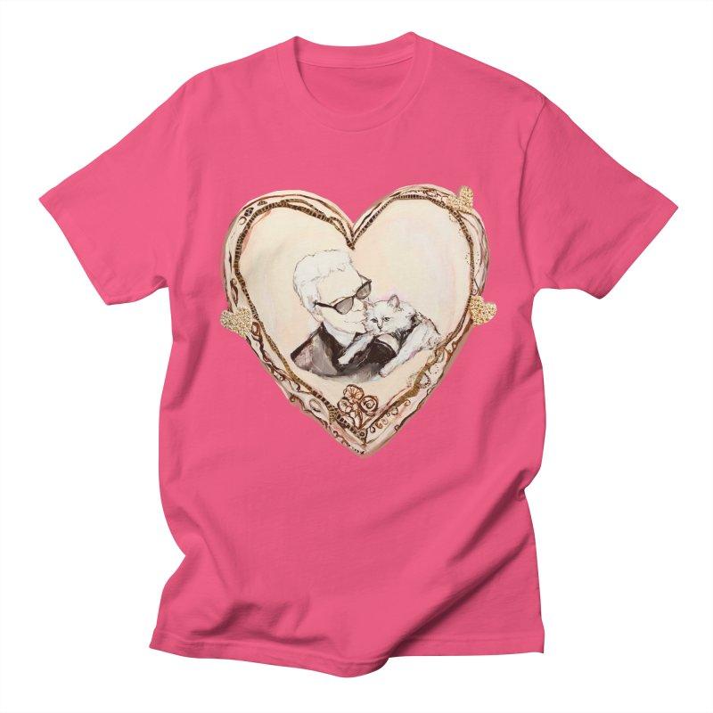 Karl's Valentine Women's Regular Unisex T-Shirt by Jennybelin's Artist Shop