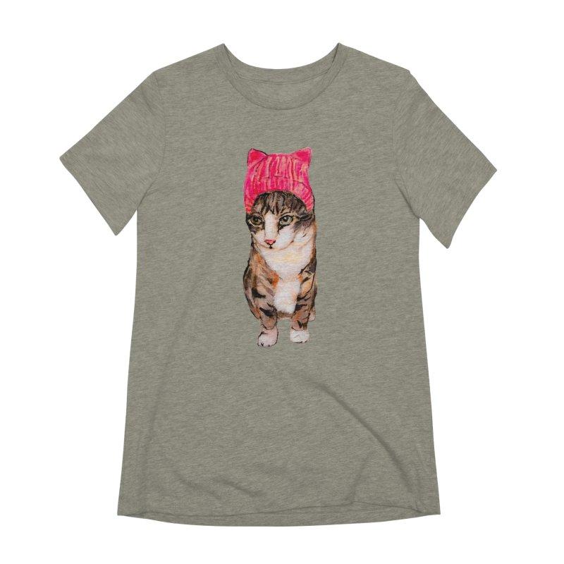 Edye Women's Extra Soft T-Shirt by Jennybelin's Artist Shop