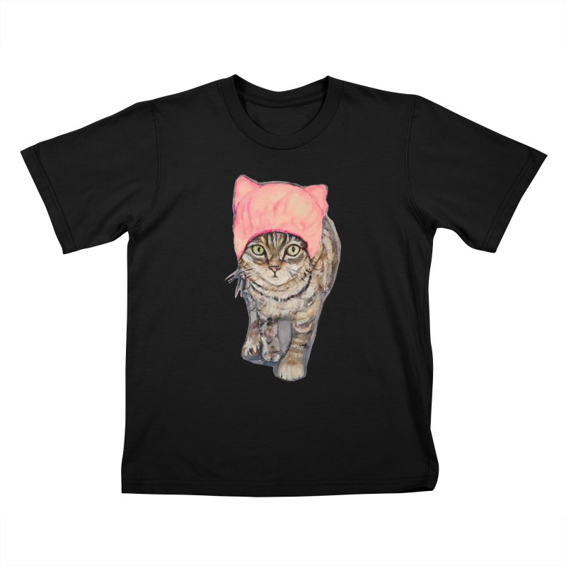 March On! Kids T-Shirt by Jennybelin's Artist Shop