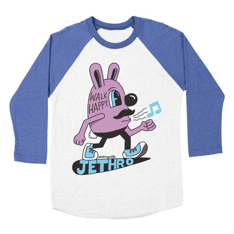 Jethro Says Walk Happy Women's Baseball Triblend Longsleeve T-Shirt by Jeremyville