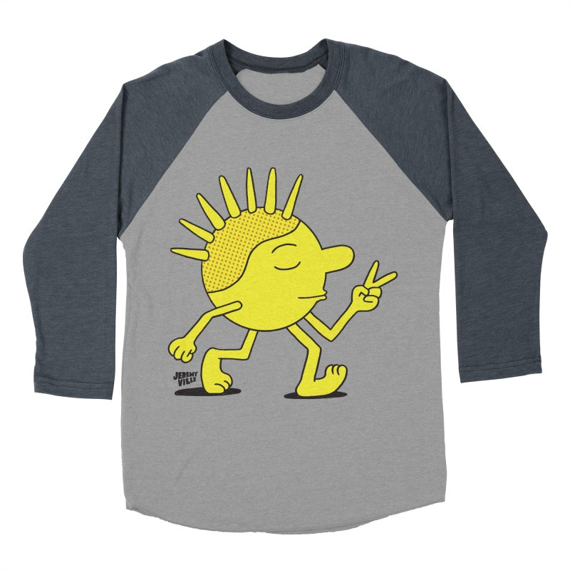 A Revolution in Your Mind Men's Baseball Triblend T-Shirt by Jeremyville's Artist Shop
