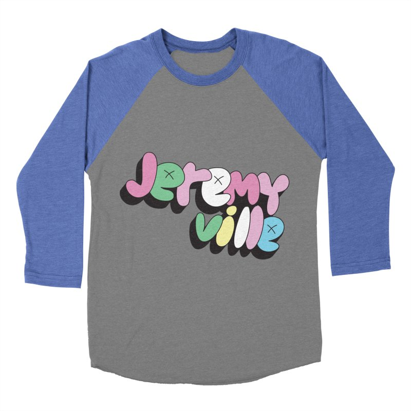 Jeremyville Women's Baseball Triblend T-Shirt by Jeremyville's Artist Shop
