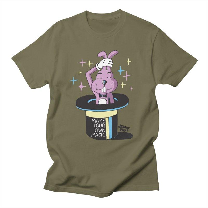 Make Your Own Magic Men's T-Shirt by Jeremyville's Artist Shop