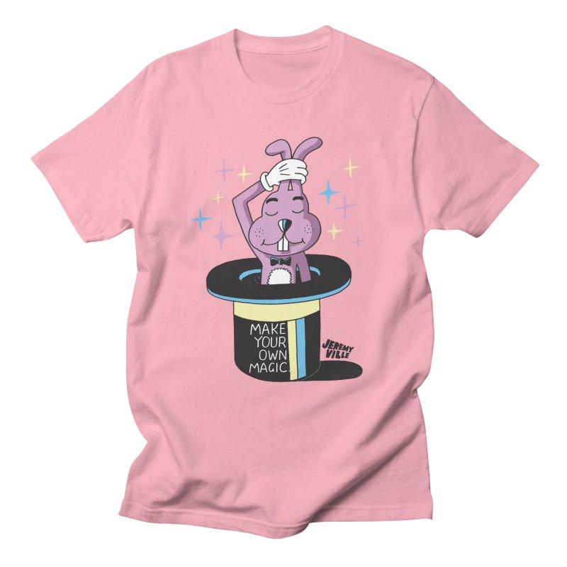 Make Your Own Magic Men's Regular T-Shirt by Jeremyville's Artist Shop