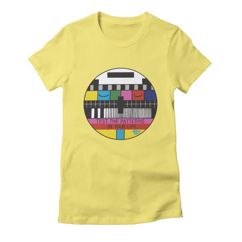 Test the Patterns in Your Life   by Jeremyville's Artist Shop