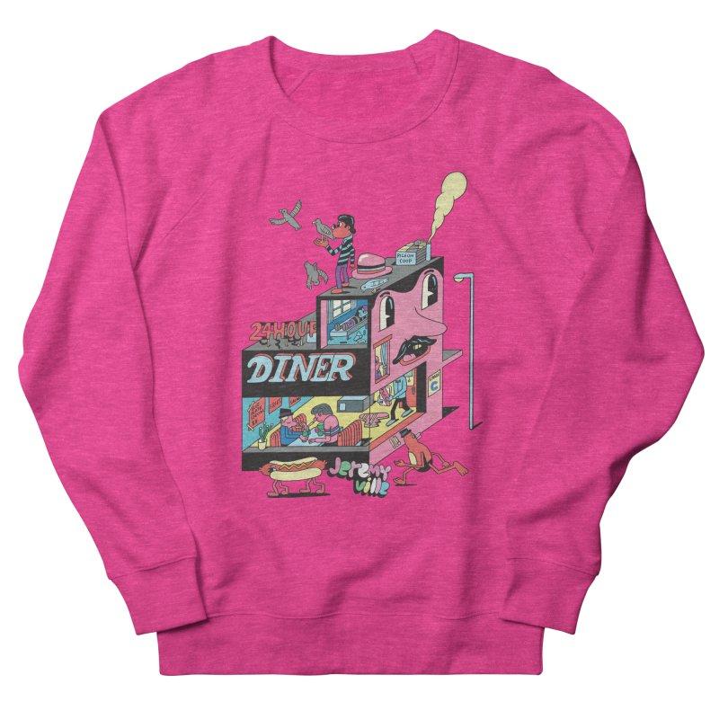 24 Hour Diner Women's Sweatshirt by Jeremyville's Artist Shop
