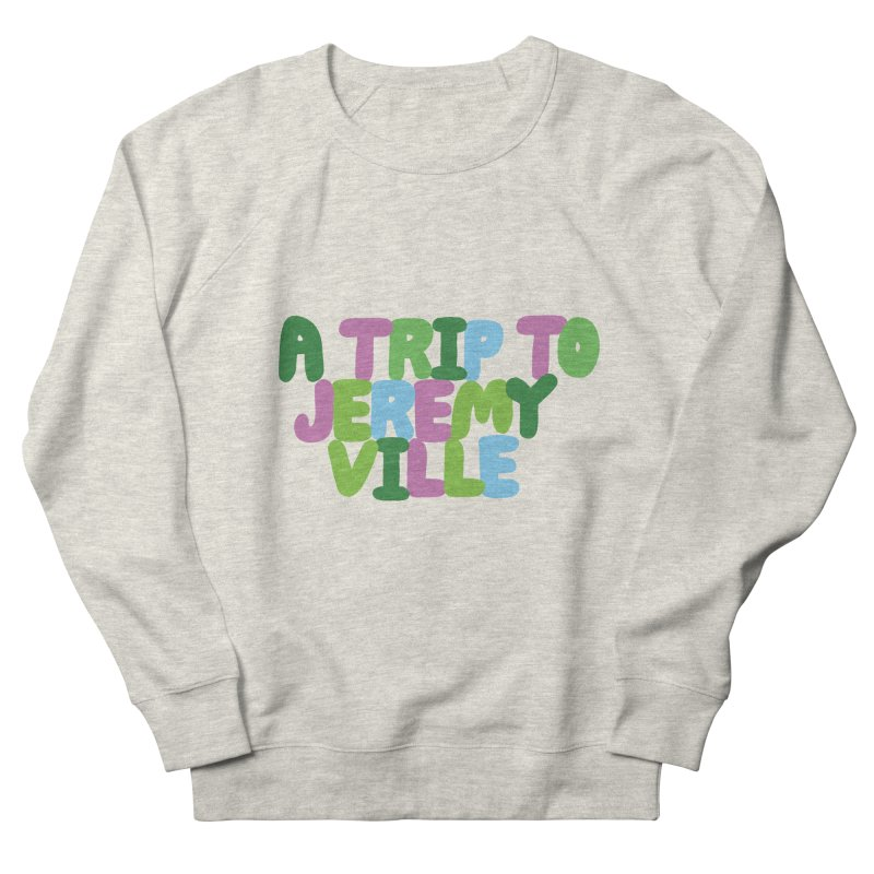 A Trip to Jeremyville Men's Sweatshirt by Jeremyville's Artist Shop