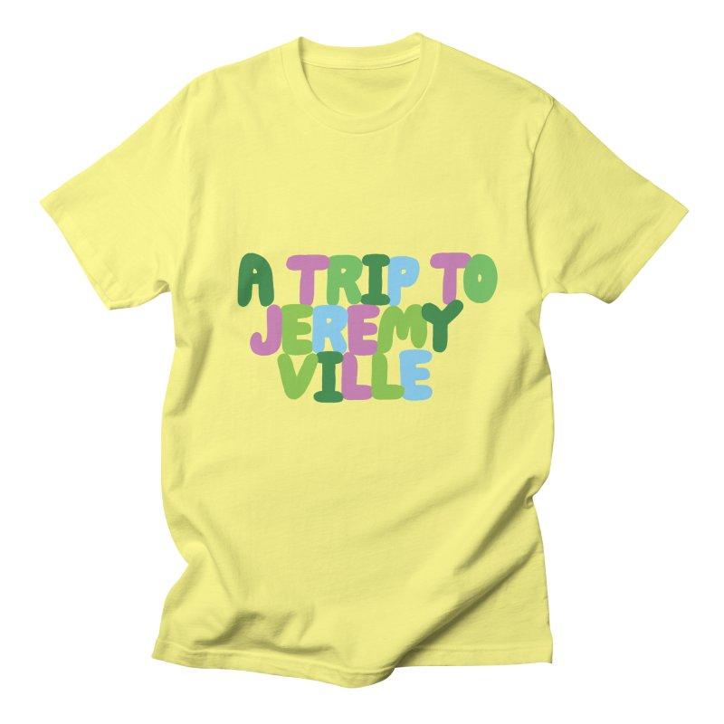 A Trip to Jeremyville Men's T-Shirt by Jeremyville's Artist Shop