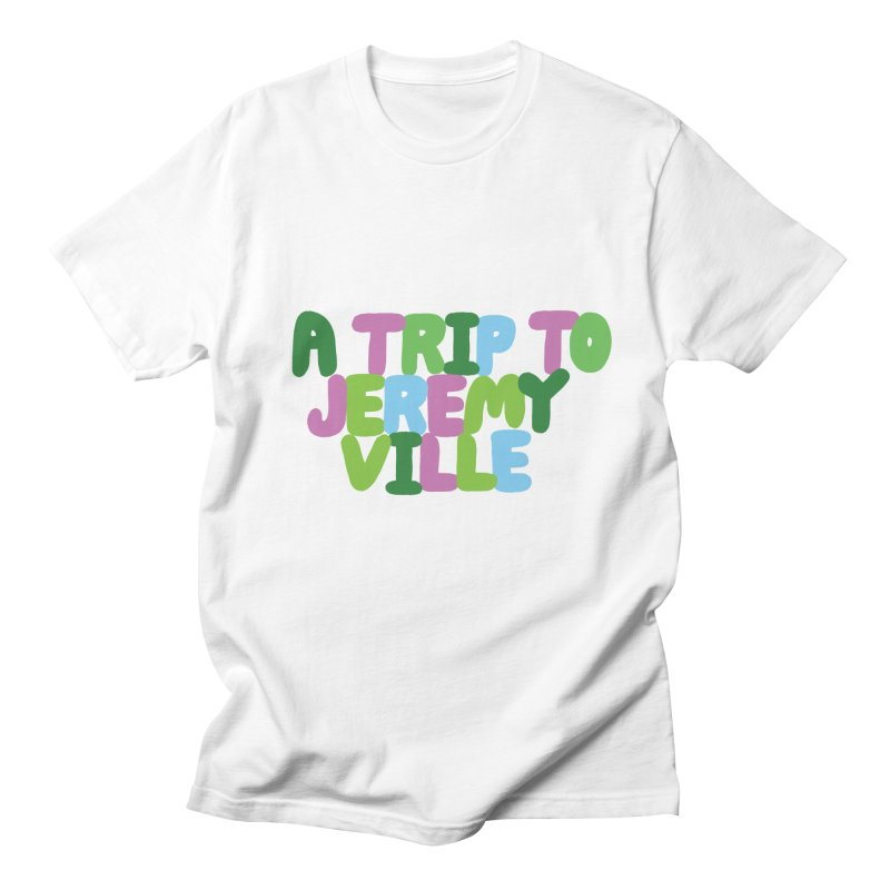 A Trip to Jeremyville Men's Regular T-Shirt by Jeremyville's Artist Shop