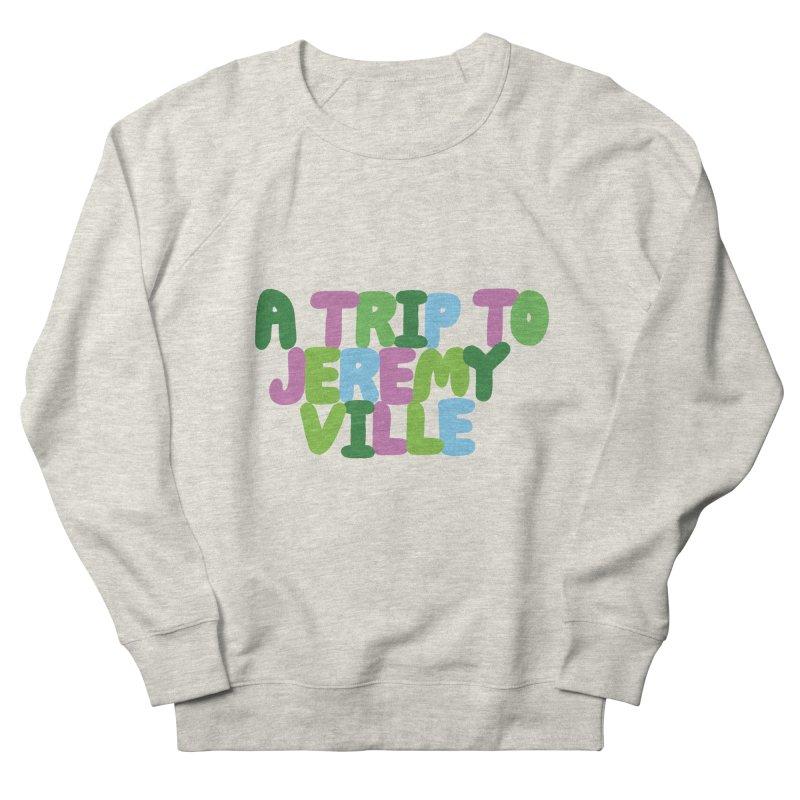 A Trip to Jeremyville Women's French Terry Sweatshirt by Jeremyville's Artist Shop