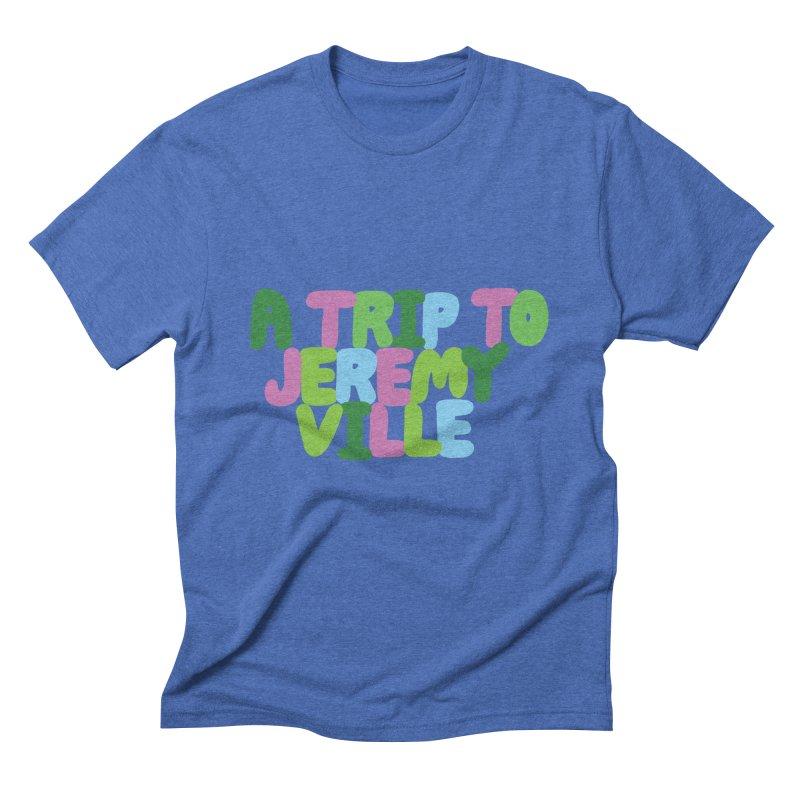 A Trip to Jeremyville Men's Triblend T-Shirt by Jeremyville