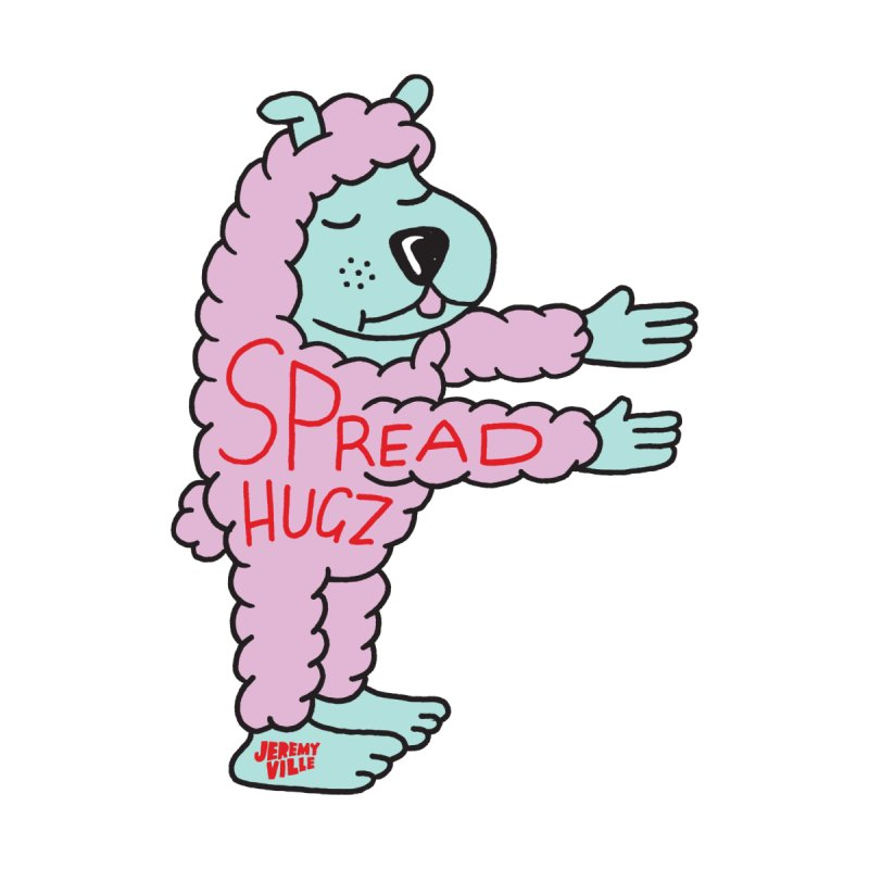 Spread Hugz   by Jeremyville's Artist Shop