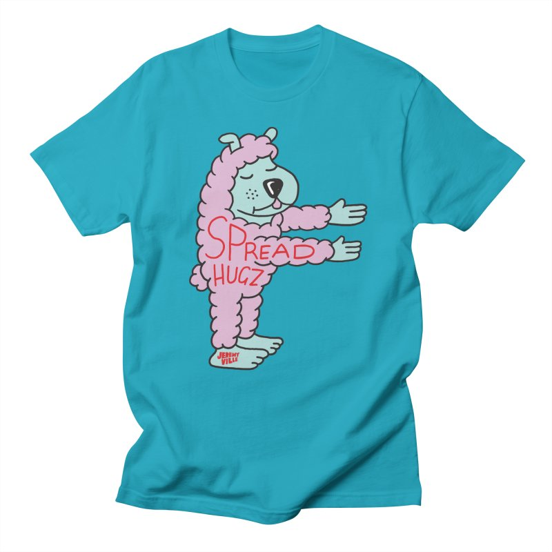 Spread Hugz Men's Regular T-Shirt by Jeremyville