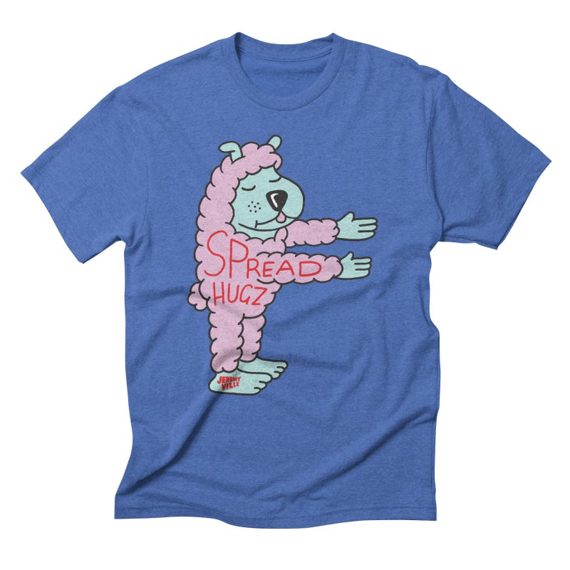Spread Hugz Men's Triblend T-Shirt by Jeremyville's Artist Shop
