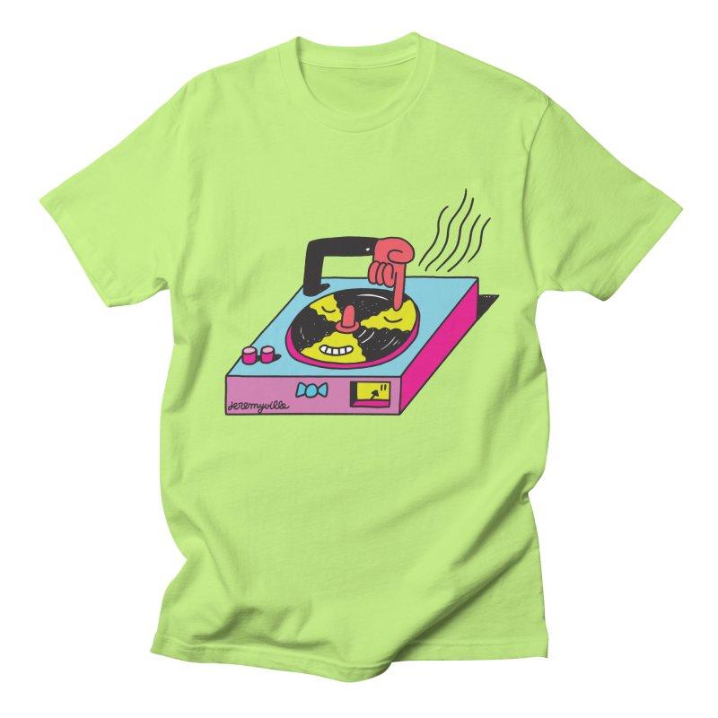 Turntable Men's T-Shirt by Jeremyville's Artist Shop