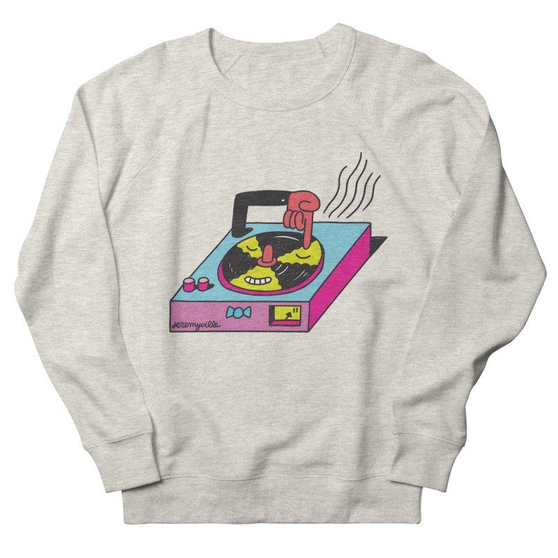 Turntable Women's Sweatshirt by Jeremyville's Artist Shop