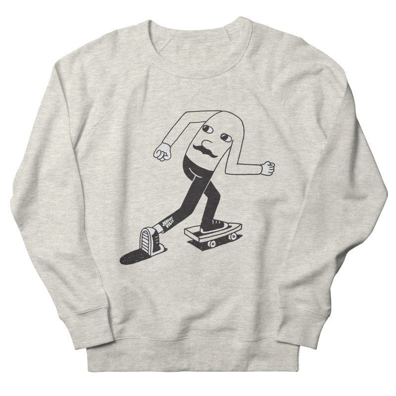 Hindsight Men's French Terry Sweatshirt by Jeremyville