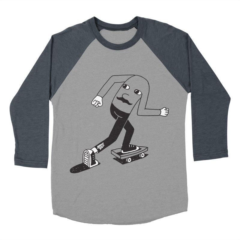 Hindsight Women's Baseball Triblend Longsleeve T-Shirt by Jeremyville's Artist Shop