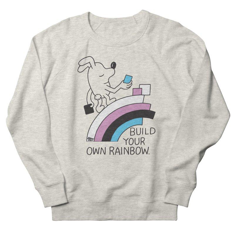 Build Your Own Rainbow Men's Sweatshirt by Jeremyville's Artist Shop