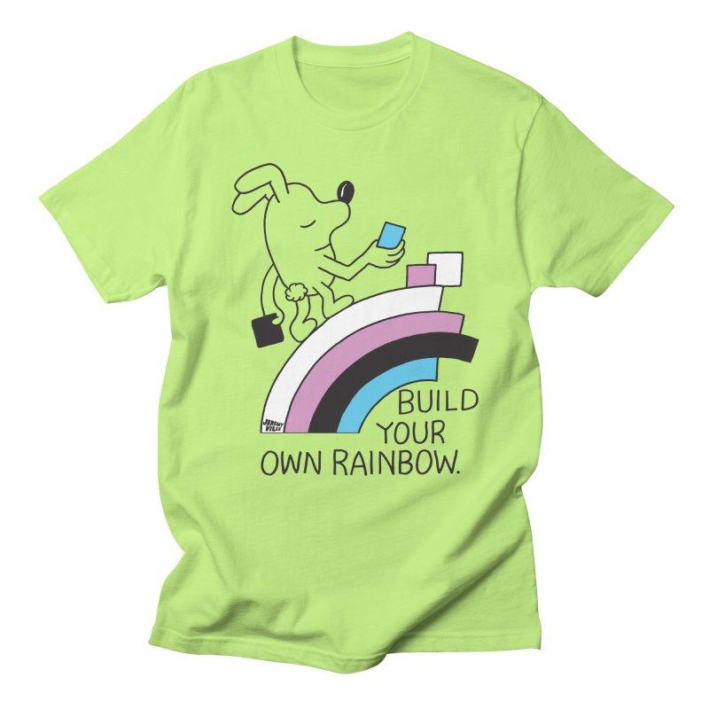 Build Your Own Rainbow Men's Regular T-Shirt by Jeremyville