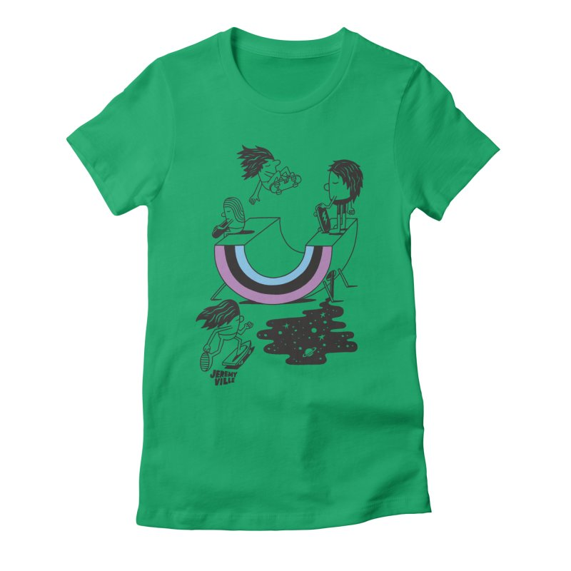 Today Is Forever Women's Fitted T-Shirt by Jeremyville