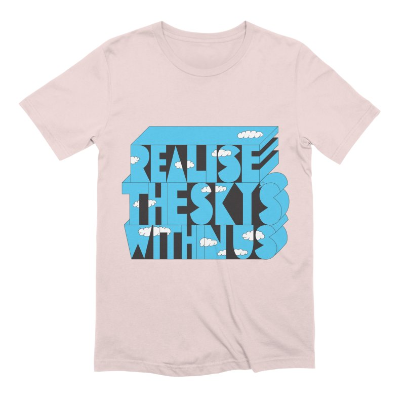Realise The Sky's Within Us Men's Extra Soft T-Shirt by Jeremyville