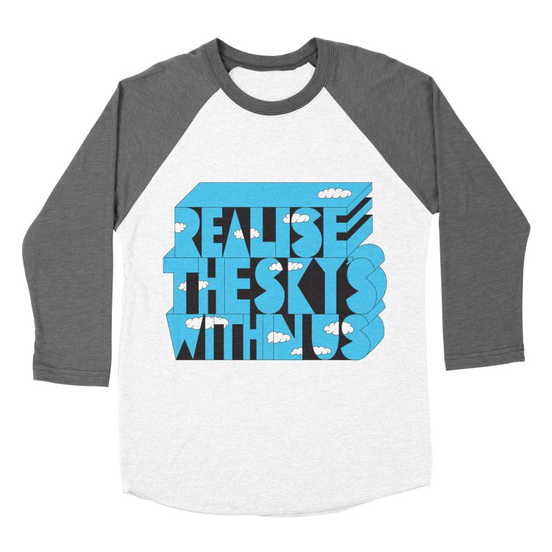 Realise The Sky's Within Us Men's Baseball Triblend Longsleeve T-Shirt by Jeremyville